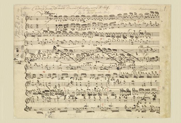 ビブリオポリ-自筆譜アート